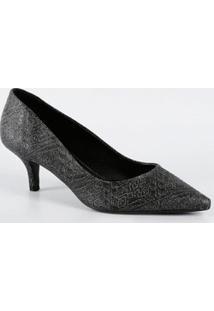 Scarpin Feminino Estampado Bico Fino Milenar Shoes 5932705