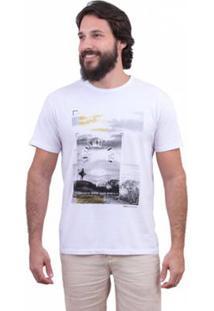 Camiseta Limits Soft Surf Trip Rj Masculina - Masculino-Branco