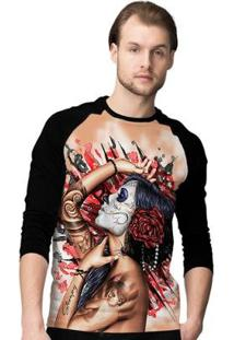 Camiseta Manga Longa Stompy Feeling Masculina - Masculino