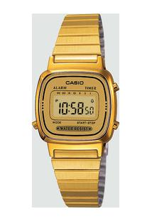 Relógio Unissex Digital Casio La670Wga9Dfbr