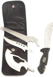 Faca Nautika Multi Blade 4 Lâminas