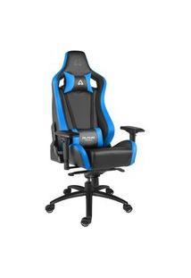 Cadeira Gamer Alpha Gamer Polaris Racing, Black Blue