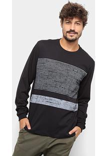 Camiseta Quiksilver Bas Tijuana Manga Longa - Masculina - Masculino