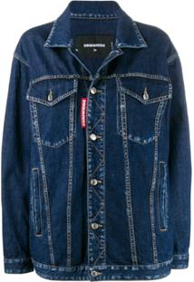 Dsquared2 Straight-Fit Denim Jacket - Azul
