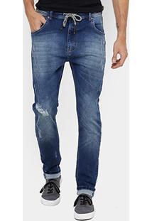 Calça Jeans Skinny Forum Jogging Indigo Masculina - Masculino