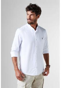 Camisa Cont. Sport Oxford Ml Reserva Masculina - Masculino