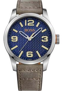 Relógio Hugo Boss Masculino Couro Marrom - 1513352