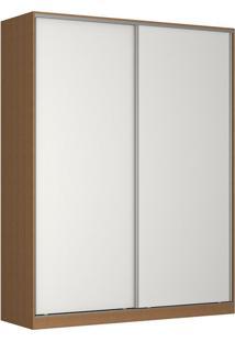 Guarda-Roupa Solteiro Tunas V 2 Pt 3 Gv Marrom E Branco