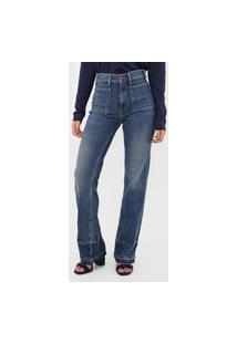 Calça Jeans Polo Ralph Lauren Reta Estonada Azul