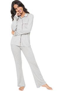 Pijama La Rudge Onça Cinza