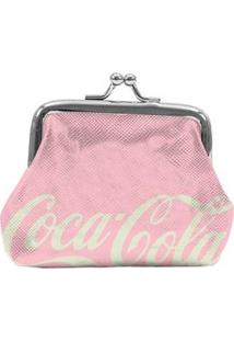 Porta-Moedas Urban Coca-Cola Contemporary Green - Rosa