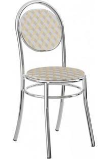 Cadeira-190-Cromada-04 Unidades-Napa/Branca-Carraro