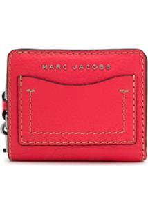 Marc Jacobs Carteira The Grind Mini Compacta - Rosa