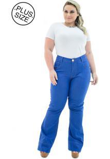 Calça Jeans Plus Size - Confidencial Extra Flare Missy