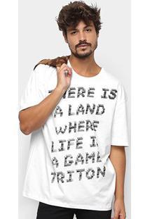 Camiseta Triton There Is A Land Masculina - Masculino
