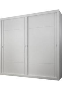 Guarda-Roupa Dalí - 2 Portas - Branco - Sem Espelho