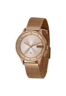 Relógio Feminino Lince Rosê Analógico Lrr4623L R1Rx Rosê