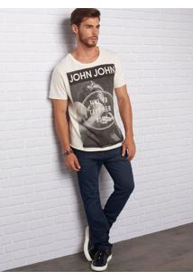 Calça John John Rock Miranda Moletom Jeans Azul Masculina Cc Rock Miranda M-Jeans Escuro-42