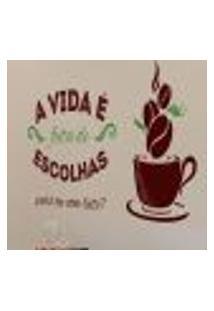 Adesivo De Parede Café Escolhas