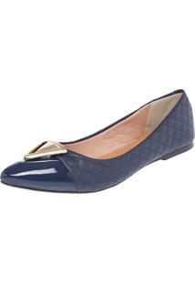 Sapatilha Dafiti Shoes Triângulo Azul