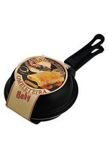Omeleteira Baby Fortaleza Preta 14 Cm