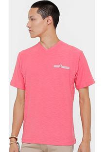 Camiseta Blue Bay Flame Básica Masculina - Masculino