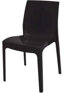 Cadeira Alice Polipropileno Cor Preto - 18746 - Sun House