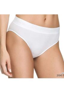 Calcinha Comfort Branca Ca087 Branco
