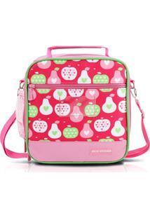 Bolsa Térmica Infantil Jacki Design Kids Rosa - Tricae