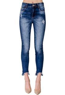 ac3ae6781 ... Calça Jeans Bia Barra Assimétrica Colcci