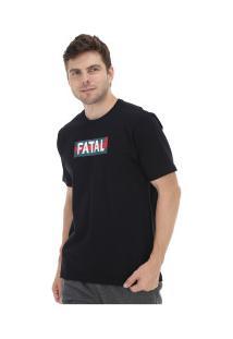 Camiseta Fatal Estampada 20330 - Masculina - Preto