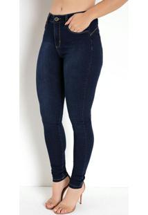 Calça Jeans Compressora Skinny Básica Sawary