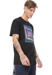 Camiseta Dc Shoes Outta Grid Preta