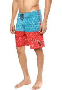 Bermuda Água Hang Loose Batik Multicolorida