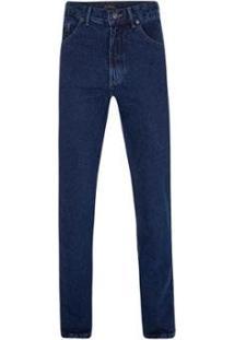 Calça Jeans Índigo Blue Cotton Masculina - Masculino-Marinho