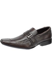 Sapato Social Pisa Forte Esporte Marrom