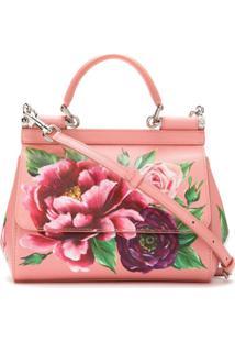 Dolce & Gabbana Bolsa Tote 'Sicily' - Rosa