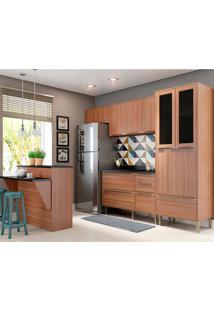 Cozinha Compacta 6 Peças 5463 Calábria - Multimóveis - Nogueira