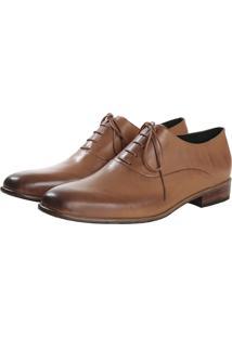 Sapato Elisa Marchi Oxford Luiz Bege