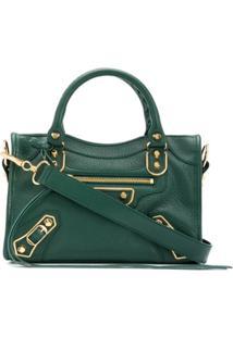 Balenciaga Bolsa Tote City Mini - Verde