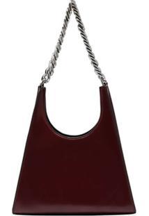 Staud Rey Chain-Strap Shoulder Bag - Vermelho