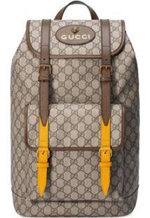 Gucci Mochila 'Soft Gg Supreme' - Neutro