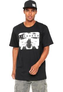 Camiseta Dc Shoes Bas X Ray Ph Preta