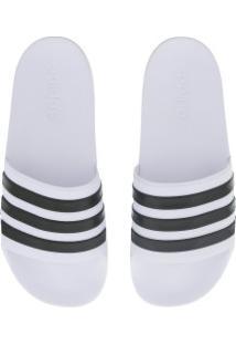 Chinelo Adidas Neo Cf Adilette - Slide - Masculino - Branco/Preto