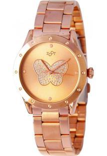 Relógio Zoot Butterfly - Rosê
