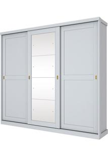 Guarda Roupa Olympia 3 Portas Branco