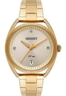 Relógio Orient Feminino Eternal Analógico - Feminino-Dourado