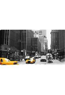 Quadro Nova York Preto 55X100Cm