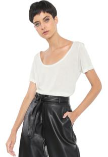 Camiseta Mob Lisa Off-White