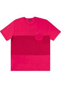 Camiseta Rovitex Rosa